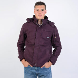 Emerson Emerson Men's Washed Jacket With Det/ble Hood (9000043010_4929)