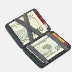 Hunterson Hunterson Magic Coin Wallet RFID - Δερμάτινο Πορτοφόλι (9000063541_1469)