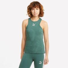 puma Puma Classics Rib Racerback Γυναικεία Αμάνικη Μπλούζα (9000072447_25829)