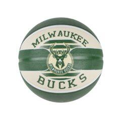 Spalding SPALDING NBA MILWAUKEE BUCKS TEAM RUBBER