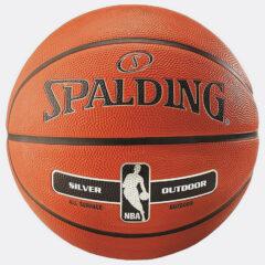 Spalding Spalding Nba Silver Series Outdoor Size 7 Rubber B (9000064503_49032)