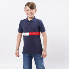 Tommy Jeans Tommy Jeans Παιδικό Flag Polo T-Shirt (9000074732_45076)