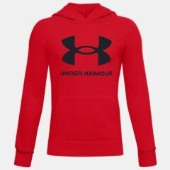 Under Armour Under Armour Rival Fleece Big Logo Παιδική Μπλούζα με Κουκούλα (9000057323_44293)