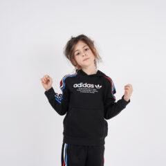 adidas Originals adidas Originals Adicolor Tricolor Παιδικό Φούτερ με Κουκούλα (9000068891_1469)