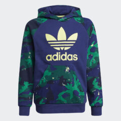 adidas Originals adidas Originals Camo Print Παιδική Μπλούζα με Κουκούλα (9000083296_54193)