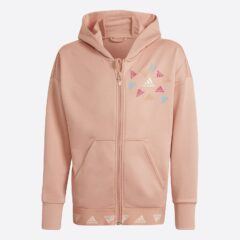 adidas Performance adidas Performance Aeroready Up2Move Cotton Touch Training Loose Full-zip Παιδική Ζακέτα (9000083092_54197)