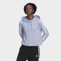adidas Performance adidas Performance Essentials 3-Stripes Γυναικεία Cropped Φούτερ (9000083257_54119)