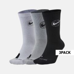 Nike Nike Crew Everyday Basketball Socks Ανδρικές Μπασκετικές Κάλτσες 3Pr (9000060478_20432)